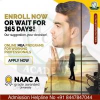 Distance Online MBA Programs Admission 2021